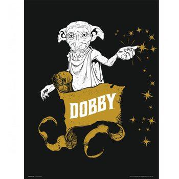 Reprodução do quadro  Harry Potter - Dobby