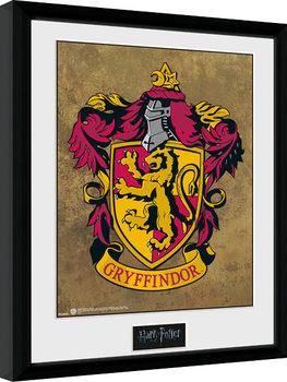 Harry Potter - Gryffindor Poster Emoldurado