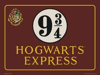 Reprodução do quadro Harry Potter - Hogwarts Express