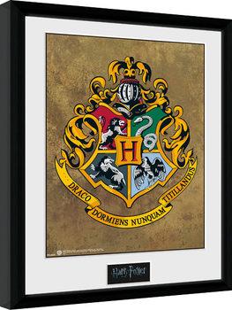 Harry Potter - Hogwarts Poster Emoldurado