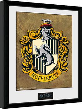 Harry Potter - Hufflepuff Poster Emoldurado