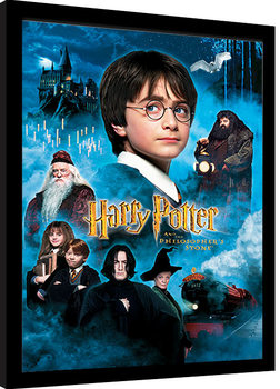 Harry Potter - Philosophers Stone Poster Emoldurado