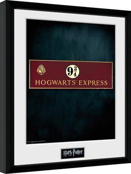 Harry Potter - Platform 9 3/4 Poster Emoldurado