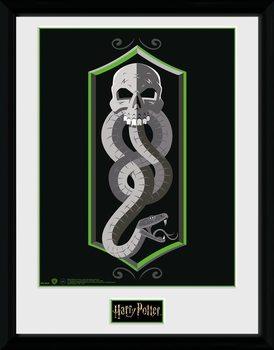 Harry Potter - Skull Poster Emoldurado