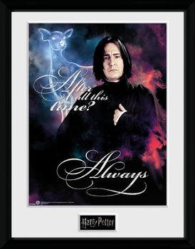 Harry Potter - Snape Always Poster Emoldurado
