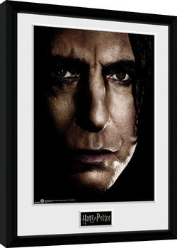 Harry Potter - Snape Face Poster Emoldurado
