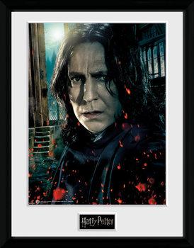 Harry Potter - Snape Poster Emoldurado