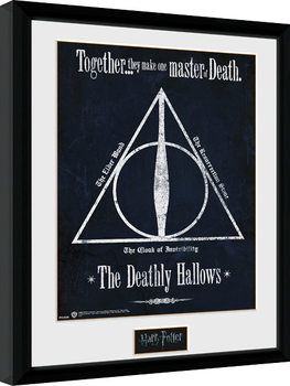 Harry Potter - The Deathly Hallows Poster Emoldurado