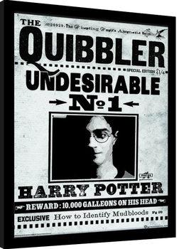 Harry Potter - The Quibbler Poster Emoldurado