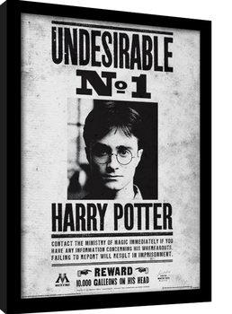 Harry Potter - Undesirable No1 Poster Emoldurado