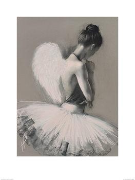 Reprodução do quadro  Hazel Bowman - Angel Wings II