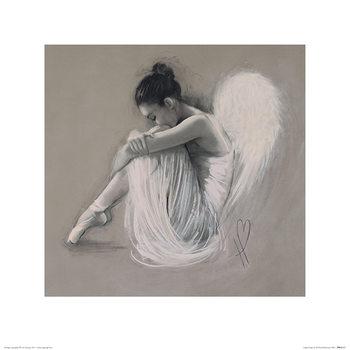 Reprodução do quadro  Hazel Bowman - Angel Wings IV