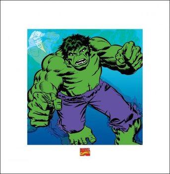 Reprodução do quadro  Hulk - Marvel Comics