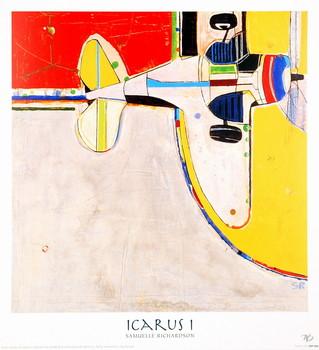 Reprodução do quadro Icarus I