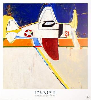 Reprodução do quadro Icarus II