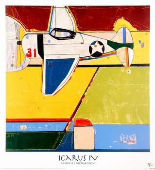 Reprodução do quadro Icarus IV