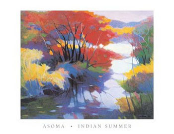 Reprodução do quadro Indian Summer