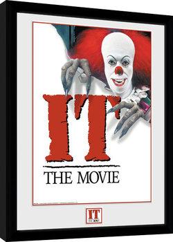 IT - 1990 Poster Poster Emoldurado