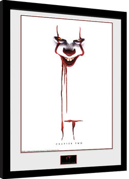 It: Chapter 2 - Blood Poster Emoldurado