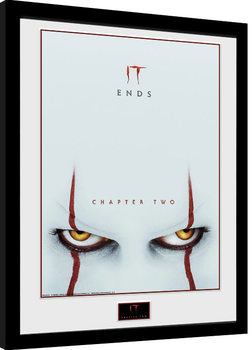 It: Chapter 2 - Eyes Poster Emoldurado