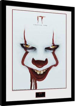 It: Chapter 2 - Face Poster Emoldurado