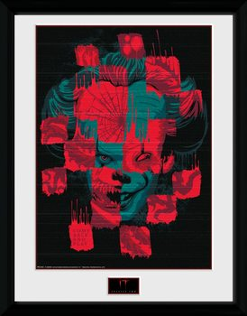 IT: Chapter 2 - Faces Poster Emoldurado