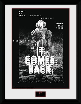 IT: Chapter 2 - It Comes Back Poster Emoldurado