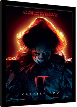 IT: Chapter Two - Come Back and Play Poster Emoldurado