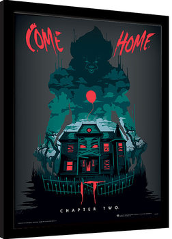 IT: Chapter Two - Come Home Poster Emoldurado