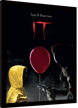 IT - Pennywise & Georgie Poster Emoldurado