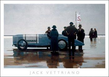 Reprodução do quadro  Jack Vettriano - Pendine Beach