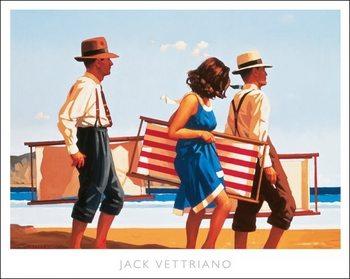 Reprodução do quadro Jack Vettriano - Sweet Bird Of Youth Poster