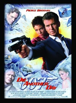JAMES BOND 007 - Die Another Day Poster Emoldurado