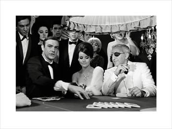 Reprodução do quadro James Bond 007 - Thunderball