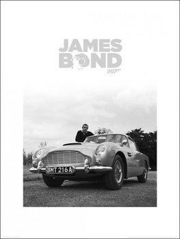 Reprodução do quadro James Bond - Shean Connery