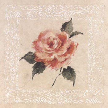 Reprodução do quadro Jardin Rose l