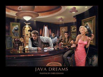 Reprodução do quadro  Java Dreams - Chris Consani