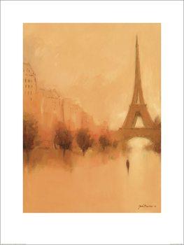 Reprodução do quadro Jon Barker - Stranger in Paris