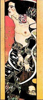 Reprodução do quadro Judith II Salomé