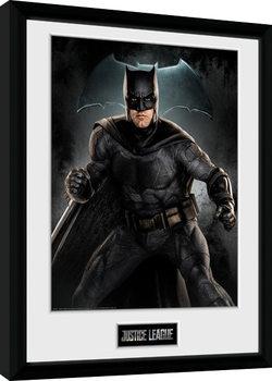 Justice League Movie - Batman Solo Poster Emoldurado