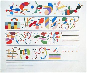 Reprodução do quadro  Kandinsky - Successione