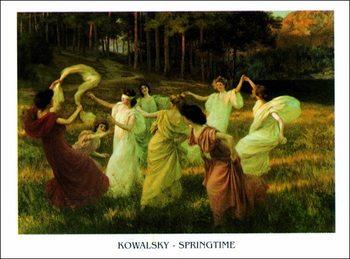 Reprodução do quadro Kowalsky - Springtime