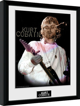 Kurt Cobain - Cook Poster Emoldurado