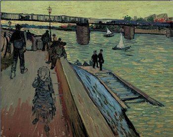 Reprodução do quadro Le Port de Trinquetaille, 1888