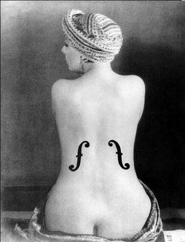 Reprodução do quadro  Le Violon d'Ingres - Ingres's Violin, 1924