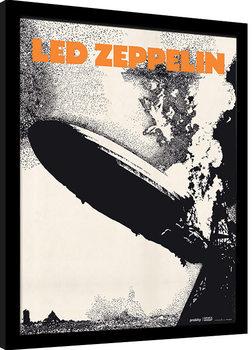Led Zeppelin - Led Zeppelin I Poster Emoldurado