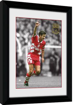 Liverpool - Rush Poster Emoldurado