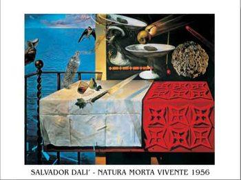 Reprodução do quadro  Living Still Life - Nature Morte Vivante, 1956