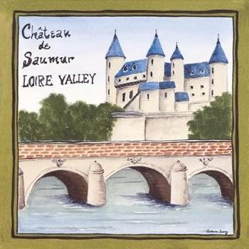 Reprodução do quadro Loire Valley