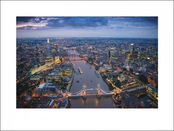 Reprodução do quadro London - Jason Hawkes